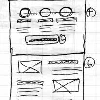 Thumbnail Sketch: Product Page (Full length)