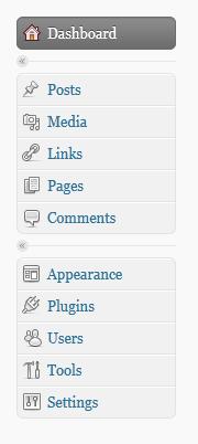 WordPress 2.7 admin icons